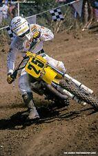 Broc Glover #25 Yamaha 1983 Carlsbad USGP 12 x 18 Art Photo Motocross TMPHOTOART