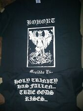KOHORT-megiddo eve -t-shirt-size-XXL-black metal