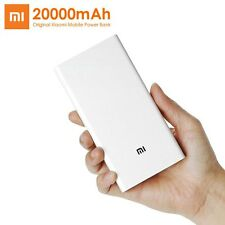 Original Xiaomi 20000mah Mobile USB Power Bank externo cargador de batería 2gen.