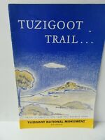 Vintage 1963 Tuzigoot Trail Brochure Booklet Tuzigoot National Monument Arizona
