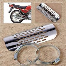 Motorrad Hitzeschild Hitzeschutz Hitzeschutzblech Auspuff Pipe Blech Für Harley#