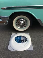 """Good year tire style 4X15"""" Wide Whitewall Trim Chevy bel air 150/210 Ford VW Bug"""