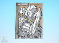 2013 Fleer Marvel Retro Black Panther Sketch Card Jose Carlos Sanchez Base 1/1
