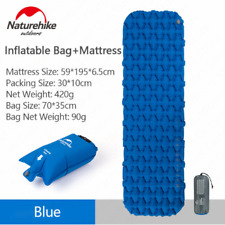 Naturehike NH가벼운 에어 매트/ 1인용-Blue(Mattress+Inflatable Bag) / 야외용 탠트 매트/방조 매트