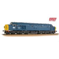 Bachmann 32-486SF OO Gauge Class 40 Split Headcode 40142 BR Blue DCC SOUND