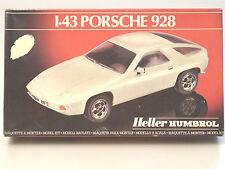 (PRL) PORSCHE 928 1:43 AUTO CAR VOITURE MONTAGGIO MODELLINO MODEL HELLER HUMBROL