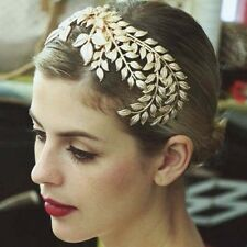 Bridal Gold Vine Crystal Leaf Gatsby Inspired hair comb headpiece prom RB675