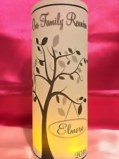 10 Personalized Family Reunion Luminaries Table Centerpieces Party Decorations 2