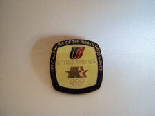 COLLECTIBLE 1984 UNITED AIRLINES OLYMPIC GAMES OLD ENAMEL PIN