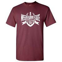Mississippi State Bulldogs Football Rush T-Shirt - Maroon