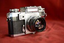 Zeiss Contax IIIa Rangefinder camera Zeiss Opton 50mm f1.5 Sonnar Lens c.1953/59