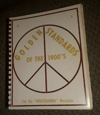 New ListingGolden Standards Of The 1900's Piano Fake sheet music song Book Vtg piano guitar
