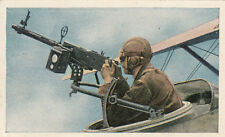 N°191 US Air Force Aircraft Machine Gun  World War Germany WWI 30s CHROMO