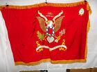 flag293 1960's US Army Flag 32nd Artillery Regiment 1st Division 2nd Battalion