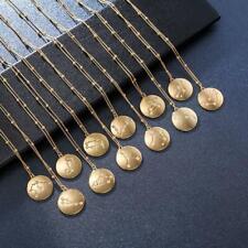 Horoscope Pendant Necklace Men or Women Gift