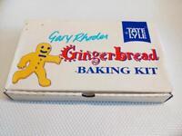 Tate + Lyle Gingerbread Baking Kit Gingerbread Man Gingerbread House Vintage