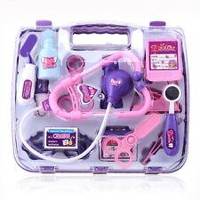 NEW Girl Nurse Doctor Pretend Play Toy Medical Kit Play Set Junior Kids Baby