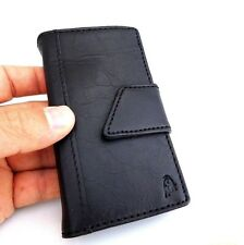 genuine 100% leather case for iphone 4s cover s 4 book wallet handmade slim new