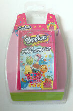 SHOPKINS MINI TOP TRUMPS CARDS PACK Collectable Card Game WINNING MOVES KID GIFT