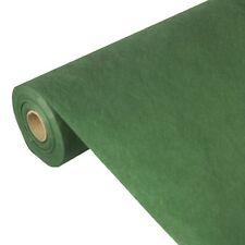 2 dunkelgrüne Tischdecke stoffähnlich Vlies soft selection 40m x 0,9m auf Rolle