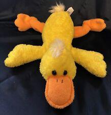 "Princess Soft Yellow DUCK Platypus 16"" Floppy Plush Melissa & Doug Stuffed 2005"