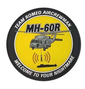 MH-60R Team Romeo Aircrewman PVC Patch - 95mm