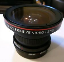 Vivitar FISHEYE 0.42x Wide Angle Lens New Fits Canon? New in Box