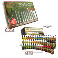 TAPWP8021 & TAPST5113 Army Painter Warpaints Mega Paint & Brush Set Combo