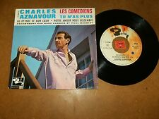 CHARLES AZNAVOUR / P.MAURIAT - EP FRENCH BARCLAY 70468 / LISTEN - FRENCH POPCORN