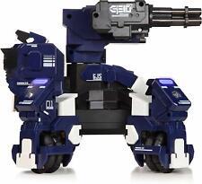Robot de Combat GEIO FPS avec Reconnaissance Visuelle Bleu NEW