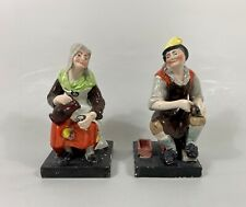 Pair Staffordshire figures 'Jobson & Nell', c. 1820. Enoch Wood factory.