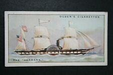 HERMANN   US Paddle Steamer   1920's Vintage Card  VGC