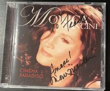 Rare Signed Cd! Monica Mancini - Cinema Paradiso - Autographed