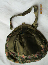 Petit sac du soir en soie brochée ancien 1920