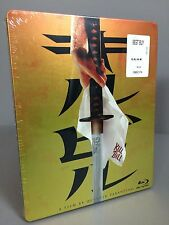 NEW! Kill Bill Vol. 1 STEELBOOK (Blu-ray+UV) Best Buy REGION FREE