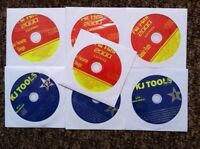 7 CDG LOT CLASSIC ROCK OLDIES KARAOKE -CD+G PINK FLOYD,BLONDIE ($49.99) 16d