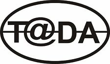 Tada t@da decal graphic teardrop trailer rv camper sticker graphics T@DA