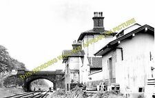 Trentham Railway Station Photo. Stoke - Barlaston. Stone Line. North Staffs. (1)