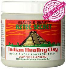 Aztec Secret Indian Healing Clay 100% Natural - 1 lb - Face mask for deep clean