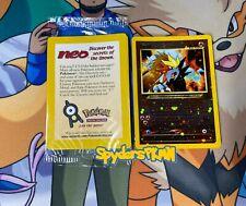 Entei # 34 Black Star Promo Factory Sealed Holo Wotc Pokemon Card