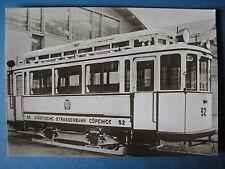 AK Ansichtskarte Postkarte Straßenbahn TW Triebwagen 52 BVG Berlin / Cöpenick