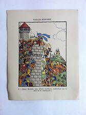 MASALADE SANSTICKETS Dessin illustration HENRI MONIER & POL FERJAC HUMOUR 1942