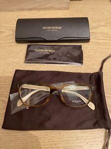 Oliver Peoples Ashton OV5224 Glasses Tortoise and Cream 1281 52mm
