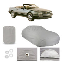 Cadillac Allante 5 Layer Car Cover Fitted Outdoor Water Proof Rain Snow Sun Dust