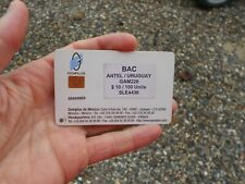 Uruguay Antel TEST CARD GEMPLUS 100 units #00000959