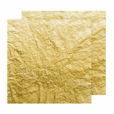 Handover Italian 23ct Gold Leaf Transfer 80 X 80mm Extra Thick 16g