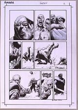 RICHARD CORBEN ORIGINAL ART Dark Horse Presents Vol 3 #1,2011:  Numunda, Signed!