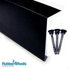 Roofing Trim For Flat Roofs, Metal Kerb Edge, 3m Long, EPDM Rubber Roofing