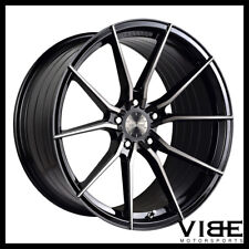 "20"" VERTINI RF1.2 FORGED BLACK CONCAVE WHEELS RIMS FITS JAGUAR F TYPE"