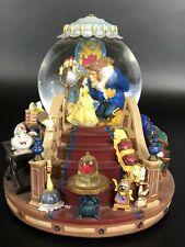 1991 Disney Beauty And The Beast The Encahnted Love Snow/Water Globe